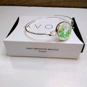 Avon shaky birthstone bracelet august birthday